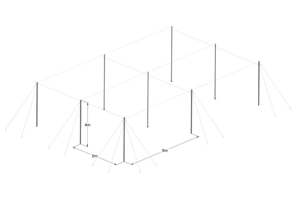 Flat Net-house