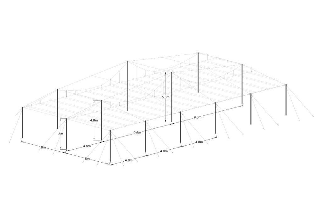 Trellising Net-house
